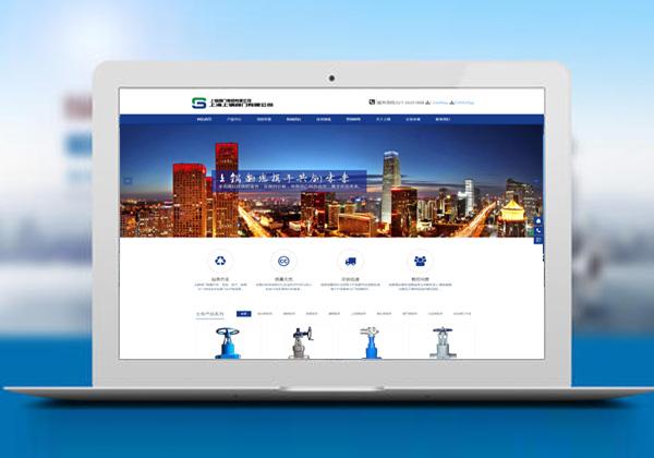 -阀门网站建设把握好三点,后续做网络营销才有保障