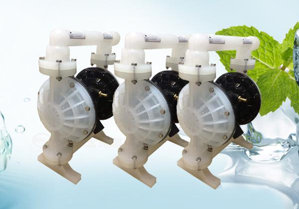 -应市场需求扩大生产,宏东泵业着力制造QBY型气动隔膜泵